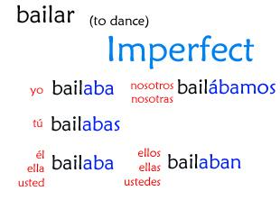 bailar-imperfect