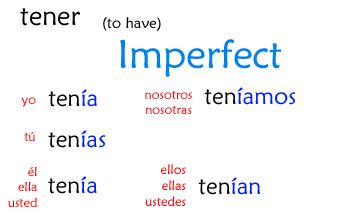 tener-imperfect